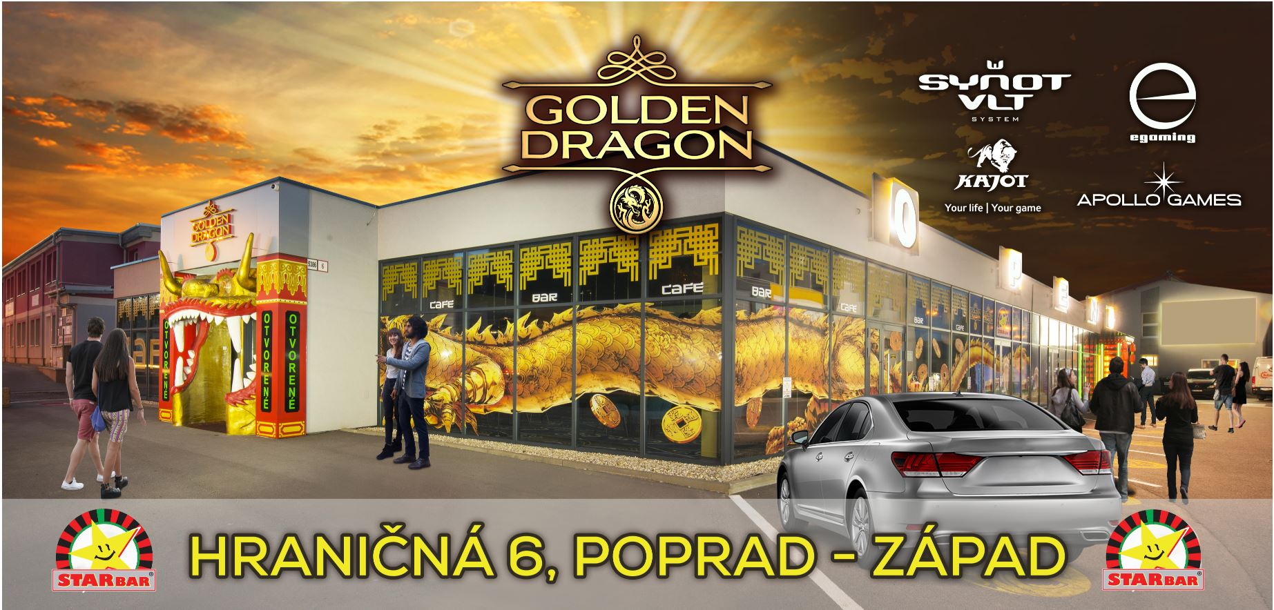 Starbar Golden Dragon Poprad